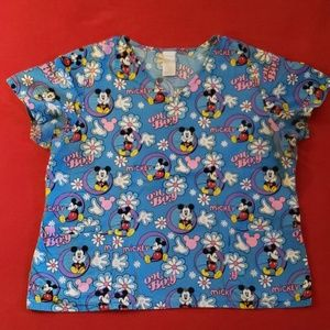 Disney Scrub top